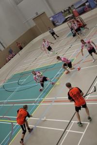 Suomen Cup 6.9.2014. Petu Hurrin (nro 8) pyssy valmiina ampumaan.