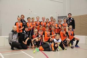 Flanels E1-pojat - Kaakkois-Suomen ja Savo-Karjalan ylialueellinen haastajamestari 2015-2016.